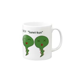 すねい君 Mugs