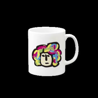 HANAGE WORKSのキャラ濃すぎピーポー Mugs