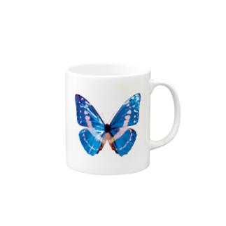 モルフォの羽 Mugs