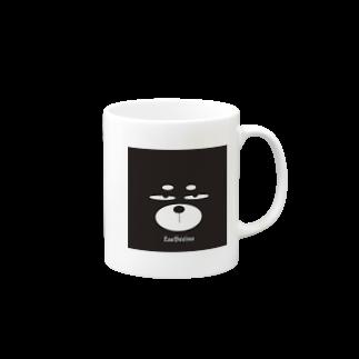 ZooBeeFooのZooBeeinu フェイス Mugs