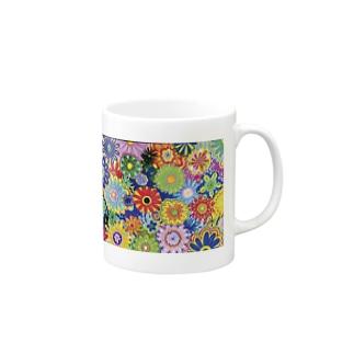幸せを呼ぶ花 Mugs