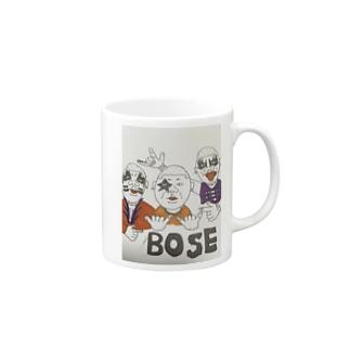 ボウズノロック Mugs