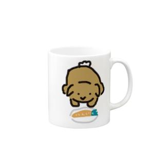 献上うさぎ Mugs