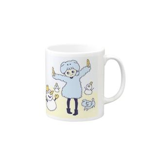 カラットちゃんマグカップ(冬ver) Mugs