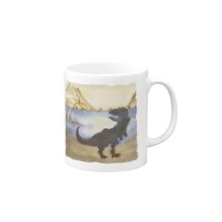 sunny_spotの恐竜 Mugs