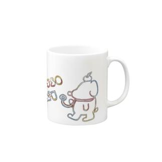 レインボークソ犬 Mugs
