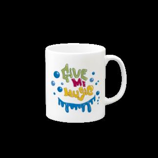 CUBIC ITEMのGive Me Music Mugs