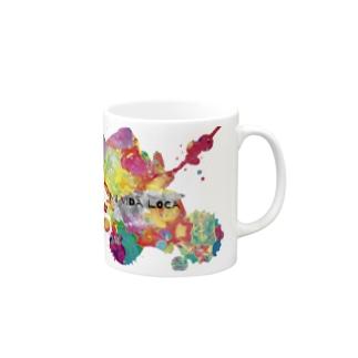 Mi Vida Loca 飛沫 Mugs