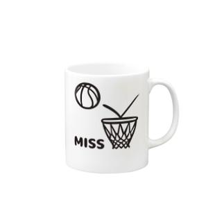 あああシュートミス Mugs