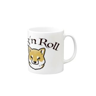 Dog'n Roll 赤柴 Mugs