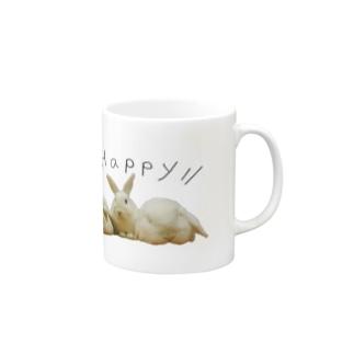 ホワイトーず Mugs