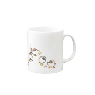 色々ちょぴ 鳥さんみたいなイキモノ Mugs