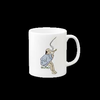 SLOW9のスバラシイメン Mugs