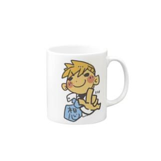 ひなたのアトリエ 手話 愛 Mugs
