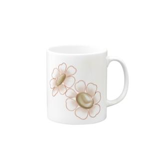 小花 Mugs
