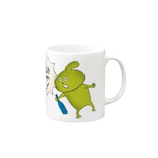 泥酔!おできちゃん Mugs