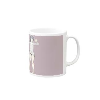 寝起き少女 Mugs
