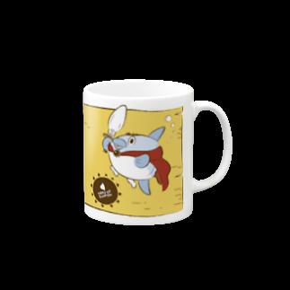 勇者マンボウ イエロー マグカップ