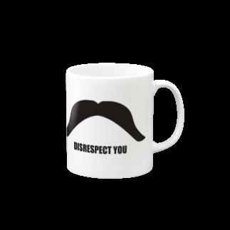 ツイッターインベストメントアパレル事業部のディスリスペクト Mugs