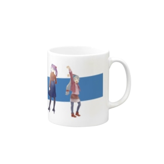 super water girls! Mugs