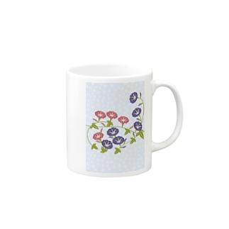 朝顔の花 Mugs