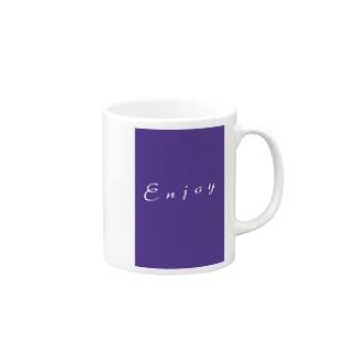Enjoy マグカップ Mugs