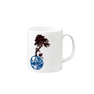 世界樹っぽいの Mugs
