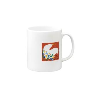 花かご Mugs