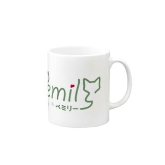pemilyオリジナルTシャツ Mugs