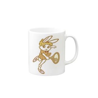 Smash Rabbit Mugs