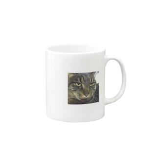 うちのお猫様 Mugs