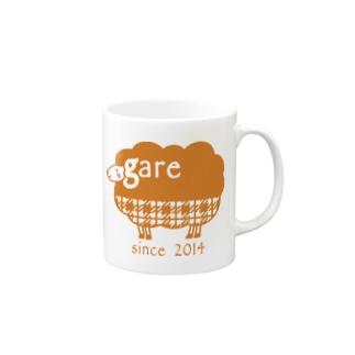 ガレリー オレンジ Mugs