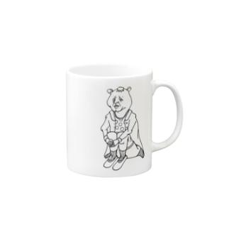 いじけてるんだよ、的なクマ。 Mugs