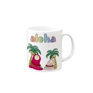 ALOHA - アロハ Mugs