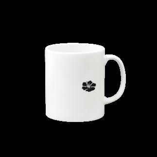 シンプルデザイン:ワンポイント マグカップ