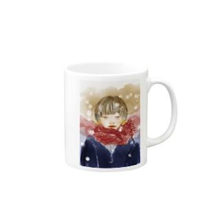 少女(冬) Mugs