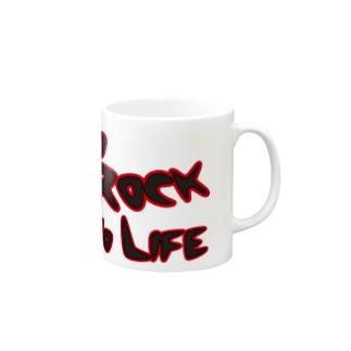 No Rock No Life Mugs
