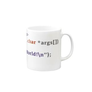 C言語 Hello World Mugs