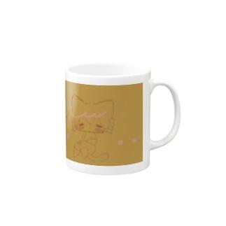 もちねこちゃん Mugs