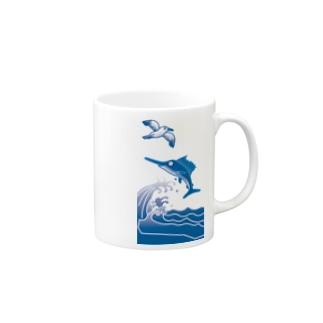 夏の海。 Mugs