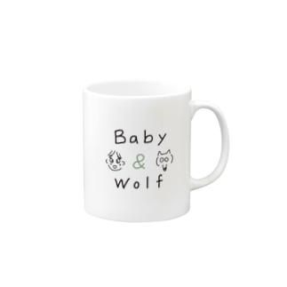 Baby & Wolf Mugs