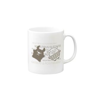 ネガティぶー&ポジティぶっぶ Part 1 Mugs