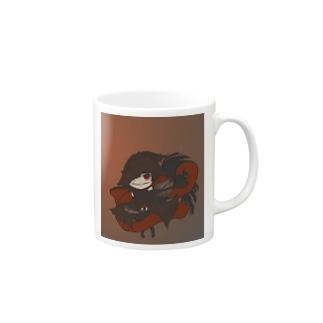 不敵な笑みの魔女 Mugs