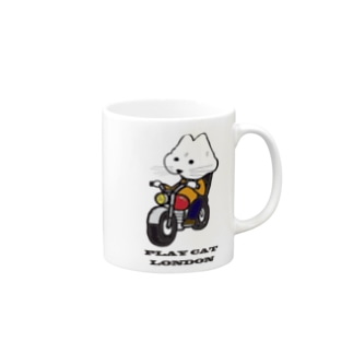 biker playcat Mugs