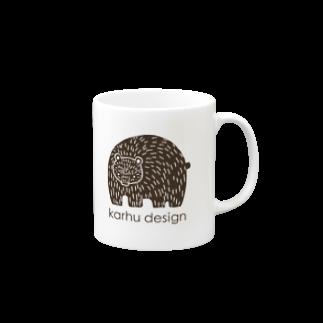 karhu designのkarhu design Mugs