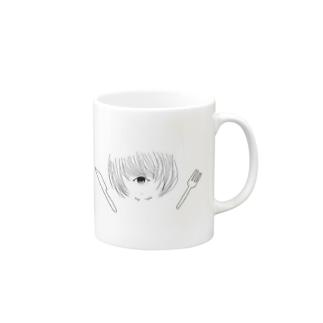 単眼少女① Mugs