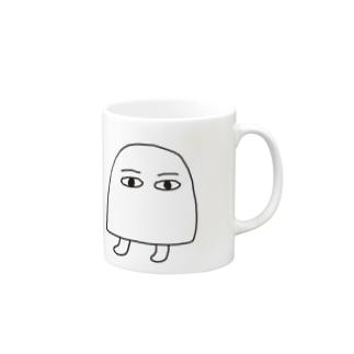 メジェド(シンプル) Mugs