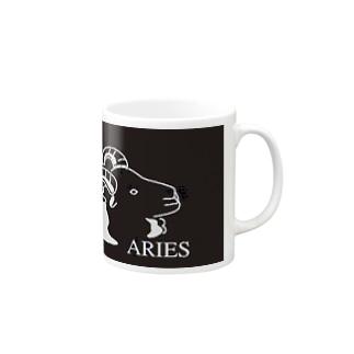 牡羊座生まれの方へ Mugs
