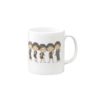 仲良し五人衆 Mugs