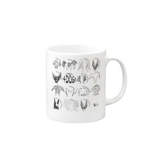 14dogs&I|ARATA HOUSE Mugs